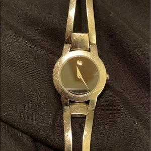 Movado Woman's Silver Beautiful Watch